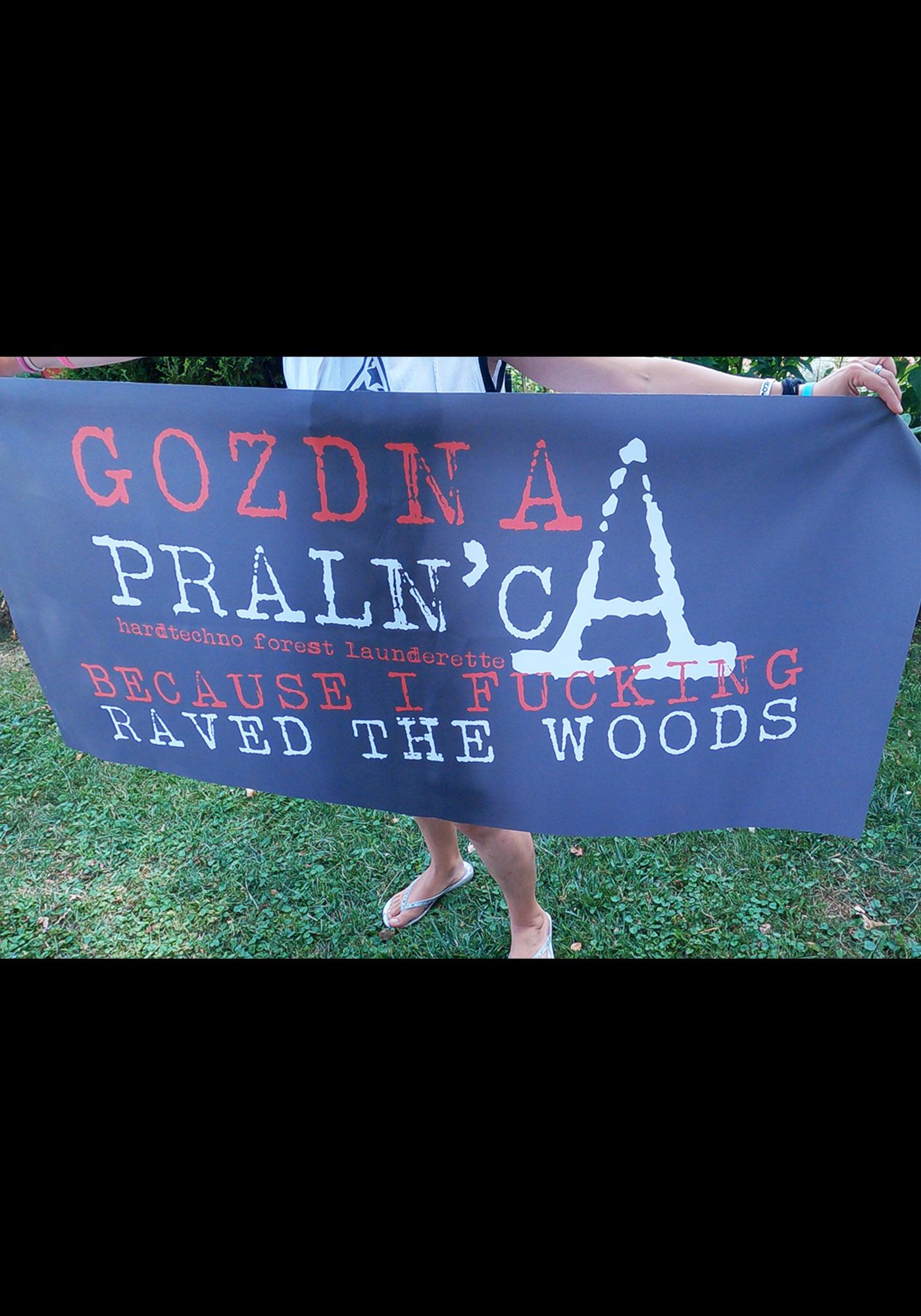 GOZDNA PRALN'CA FLAG