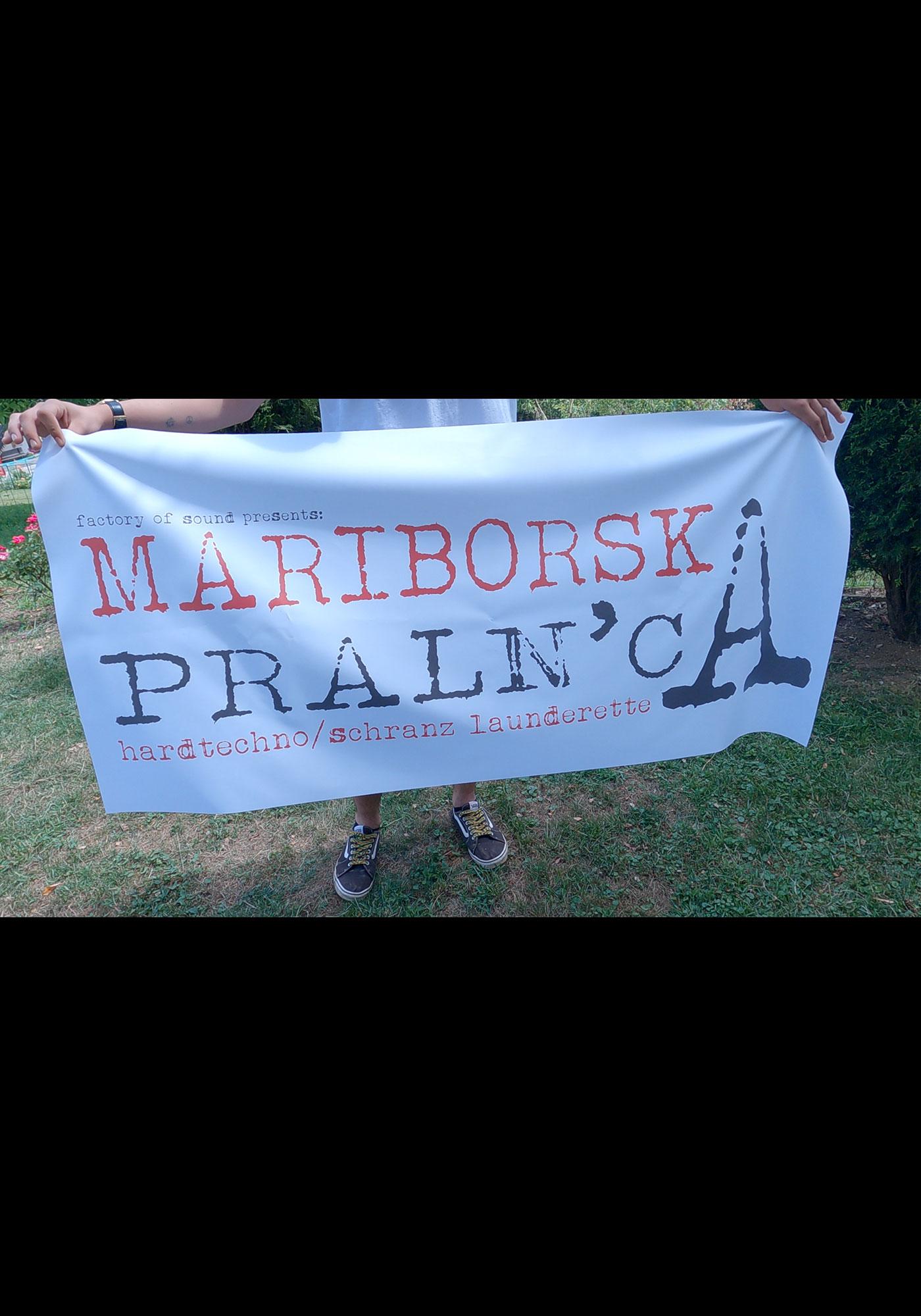 MARIBORSKA PRALN'CA FLAG