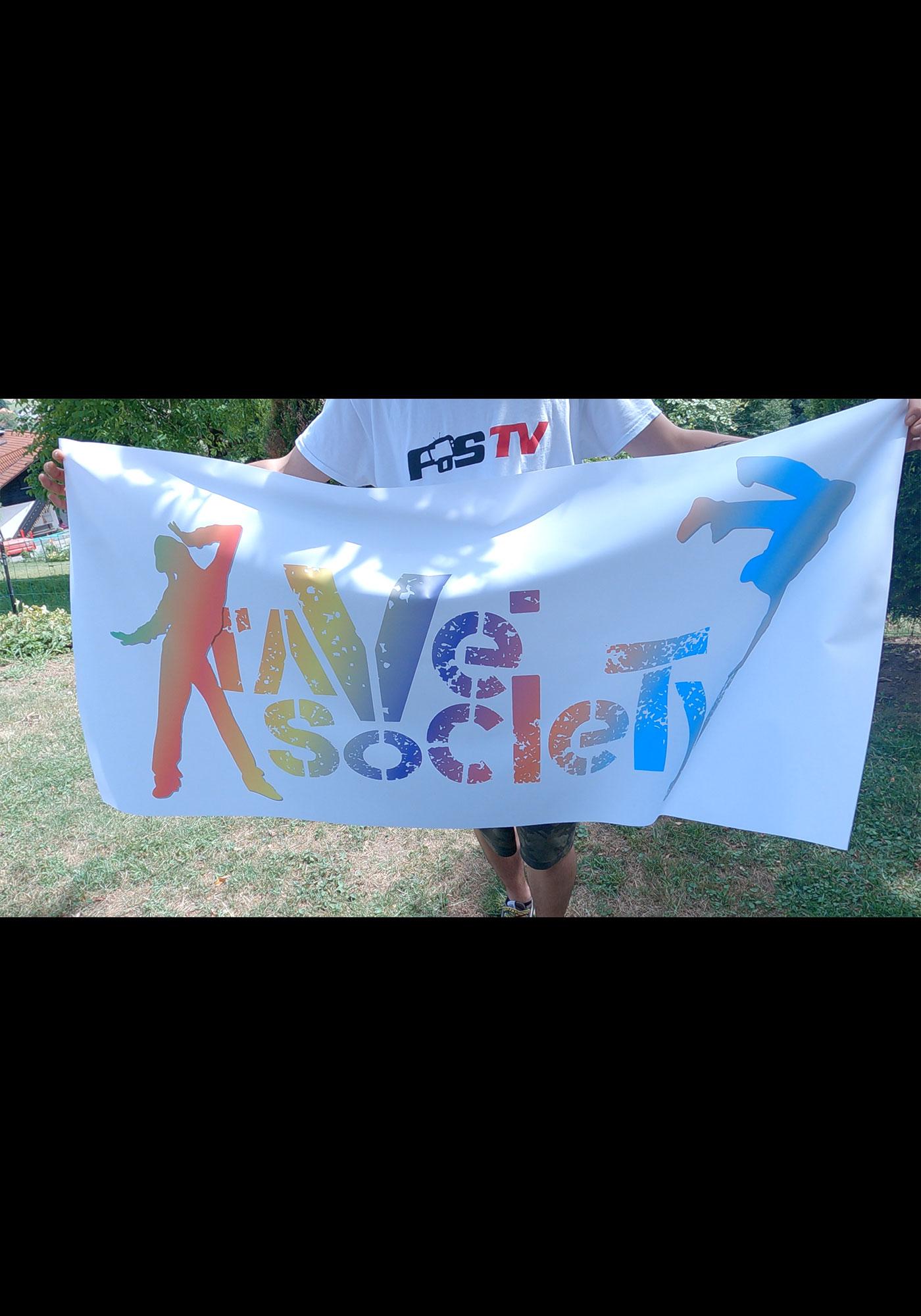 RAVE SOCIETY FLAG